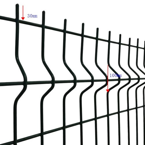 3d Curved Wire Mesh Fence 2