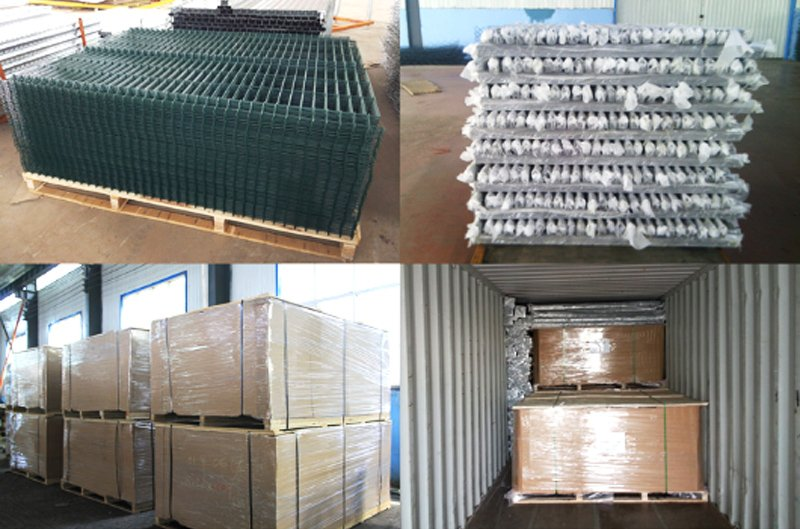 3d Curved Wire Mesh Fence 8