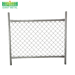 Giant S Chain Link Fence Can Be Divided Into Galvanized