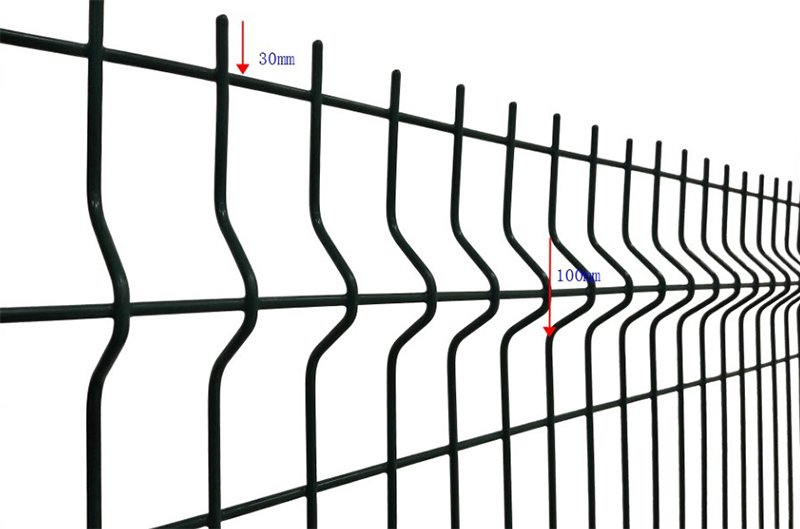3d Curved Wire Mesh Fence 7