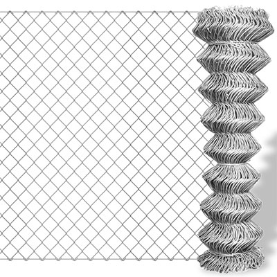 metal cyclone chain link fence