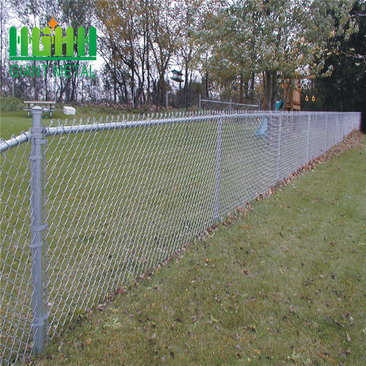 8 foot chain link fence3